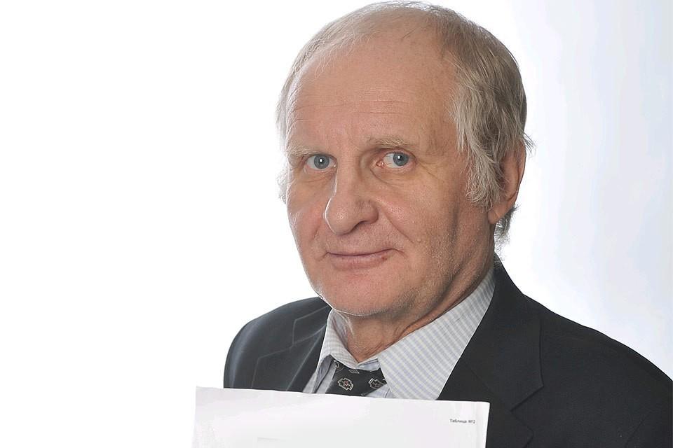 """Журналист """"Комсомольской правды"""" Евгений Черных."""