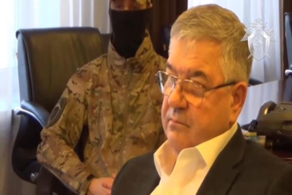 Следком опубликовал видео задержания главы подразделения РЖД в Кузбассе. Фото: кадр видео СК РФ