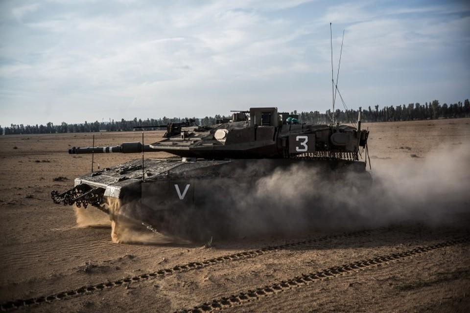 Израильские танки уничтожили сирийскую больницу