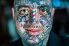 Люди с татуировками на лице — кто они?