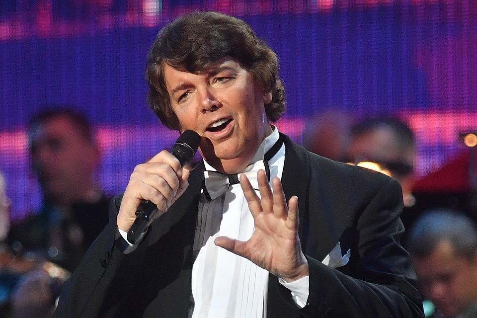 Сергей Захаров на сцене, осень 2018 года