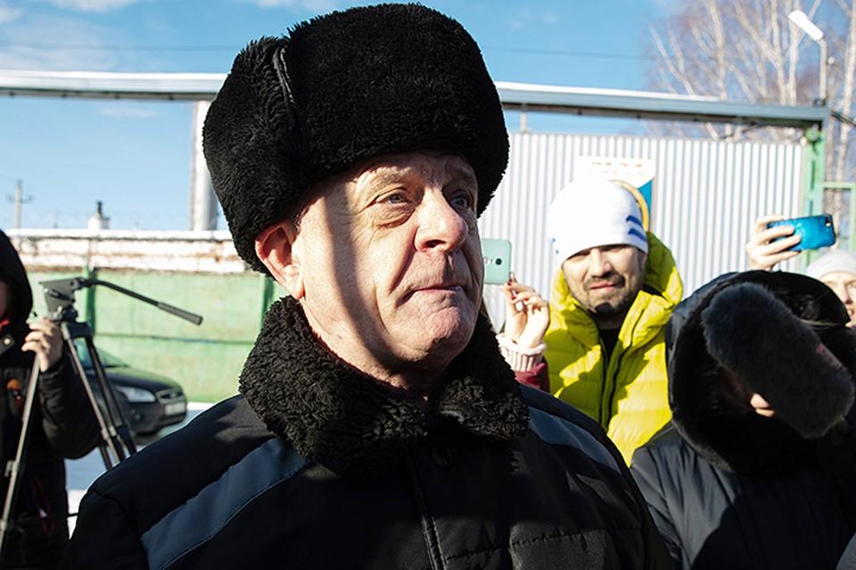 Квачков объяснил коллегам, что в ближайшее время планирует встретиться с женой, детьми, а после этого вернуться к тому, чем занимался раньше. Фото: Станислав Красильников/ТАСС