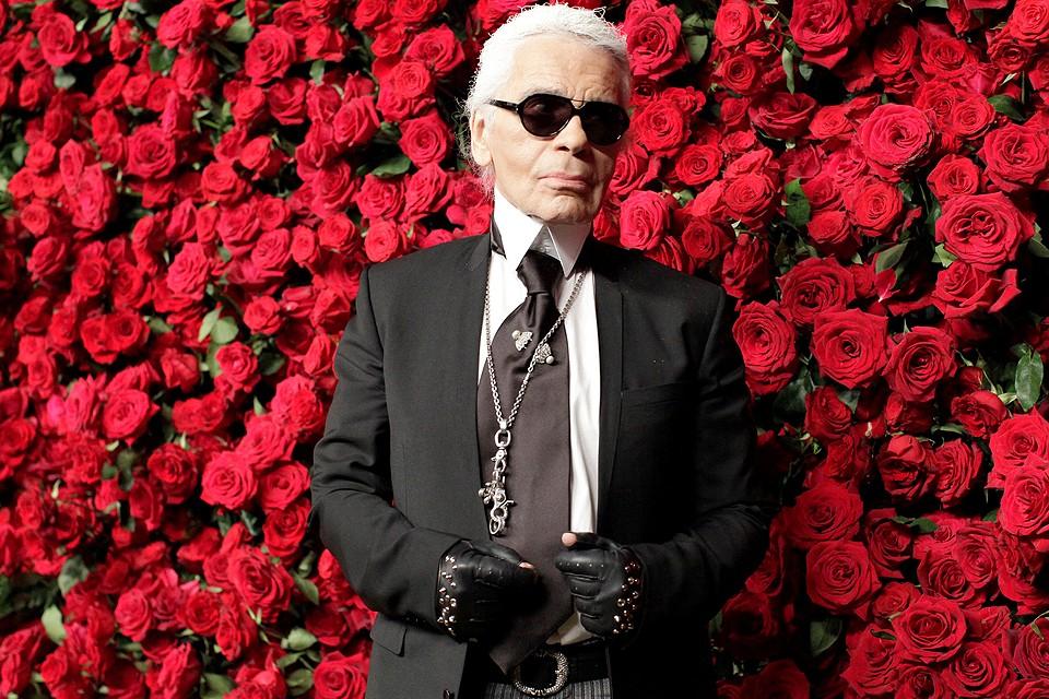Мир моды скорбит по великому Карлу Лагерфельду.