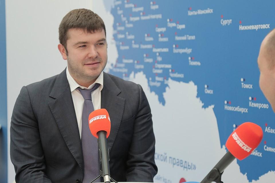 Руководитель департамента инвестиционной и промышленной политики города Москвы Александр Прохоров.