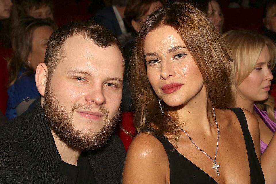Сергей Бондарчук с женой Татой.