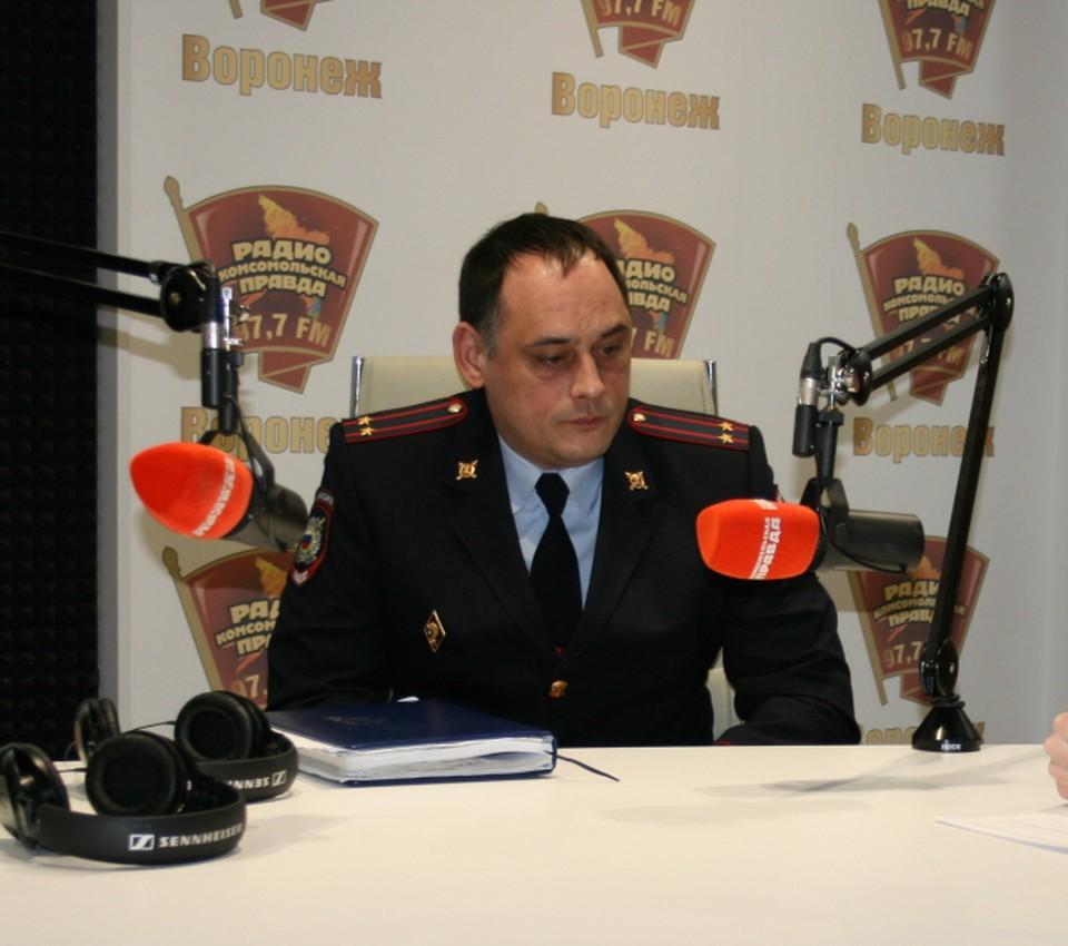 Подполковник полиции Сергей Бучнев.