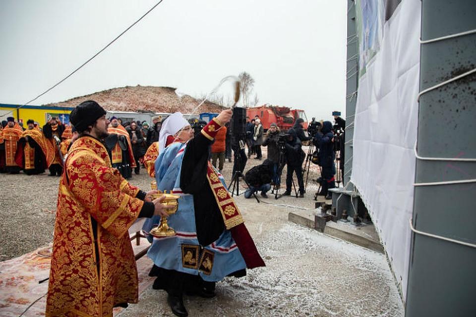 В Красноярском крае освятили самый высокий в России поклонный крест