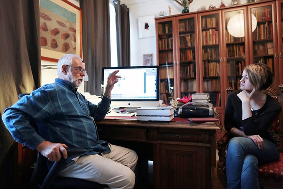 Наш корреспондент Евгения Коробкова пообщалась с Андреем Сарабьяновым. Фото Анны Иванцовой