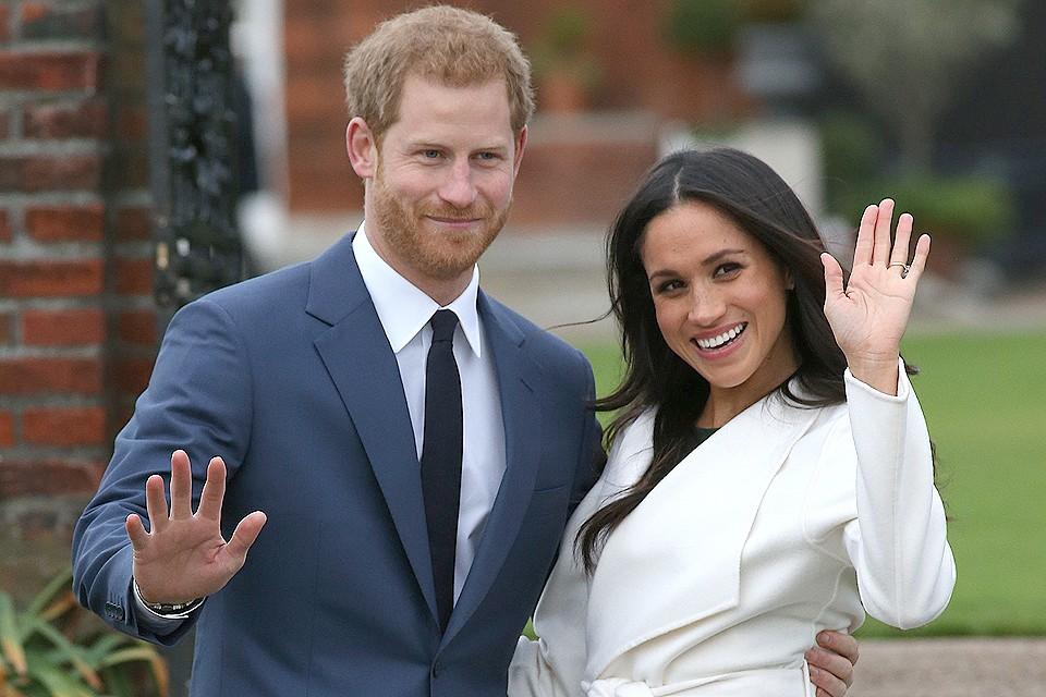 Британский принц Гарри и Меган Маркл.
