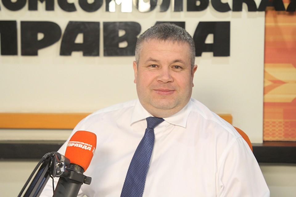 Генеральный директор АО «Восточное управление ЖКС» на ЖКХ марафоне