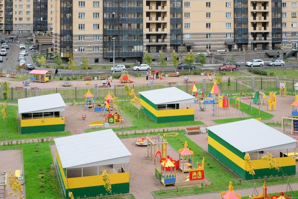 К новому учебному году в Петербурге построят пять школ и пять детских садов