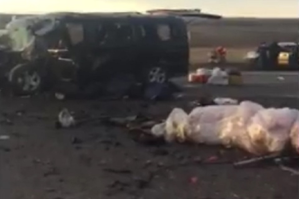 На Ставрополье в ДТП с автобусом, ехавшим из Азербайджана в Москву, погибли шесть человек