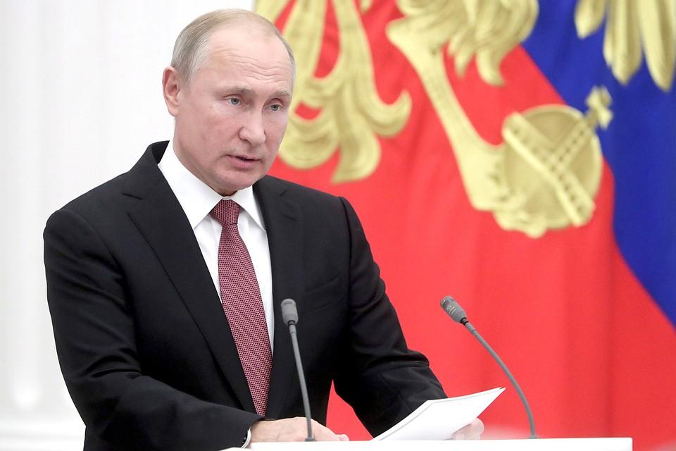 Владимир Путин поздравил россиянок с Международным женским днем. Фото: Михаил Метцель/ТАСС