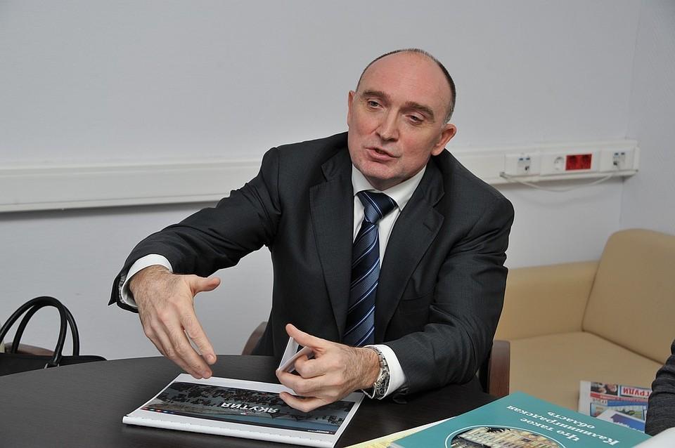 Борис Дубровский возглавлял Челябинскую область с 2014 года.