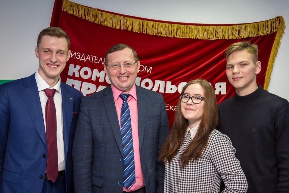 Вице-губернатор Павел Креков ответил на вопросы студентов Академии госслужбы