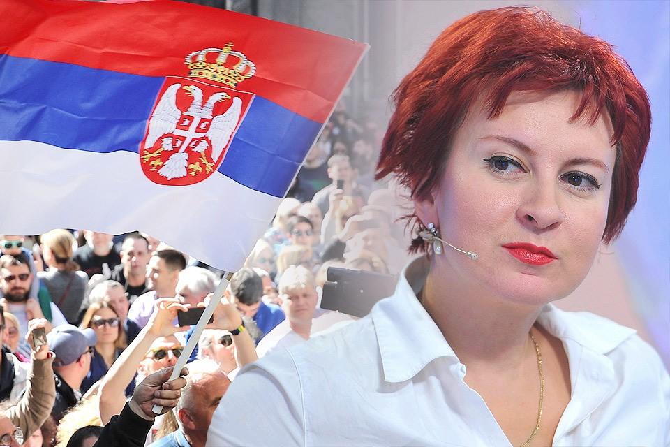 Дарья Асламова приехала в Белград спустя 20 лет после бомбардировок Югославии силами НАТО.