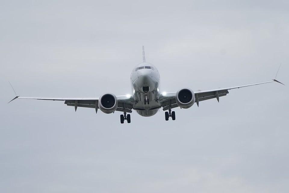 Лайнер Boeing 737 MAX