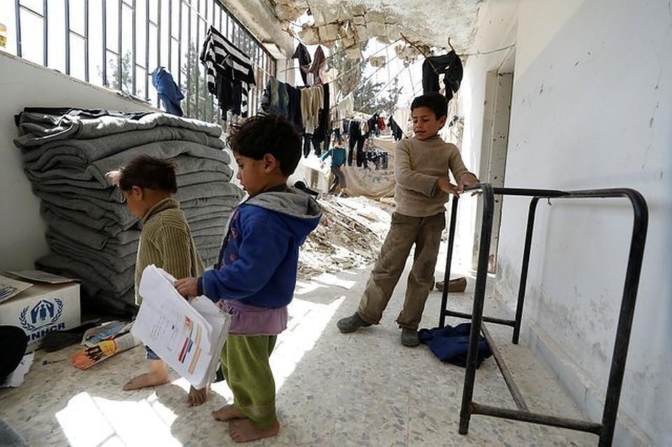 Россия передала медоборудование для детской больницы в Сирии