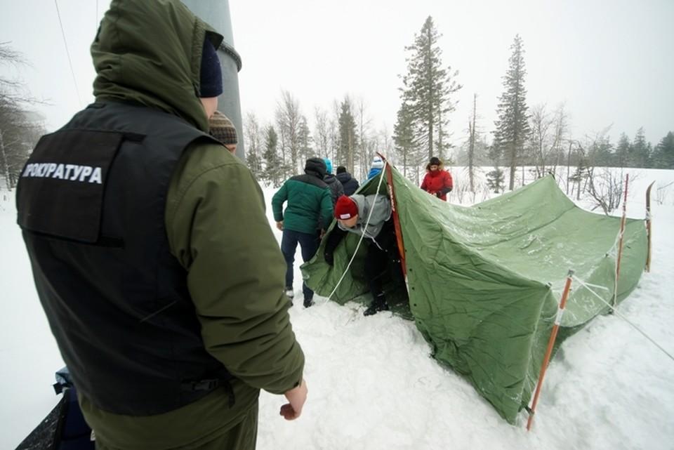 Эксперимент проходил на горе Белой под Нижним Тагилом