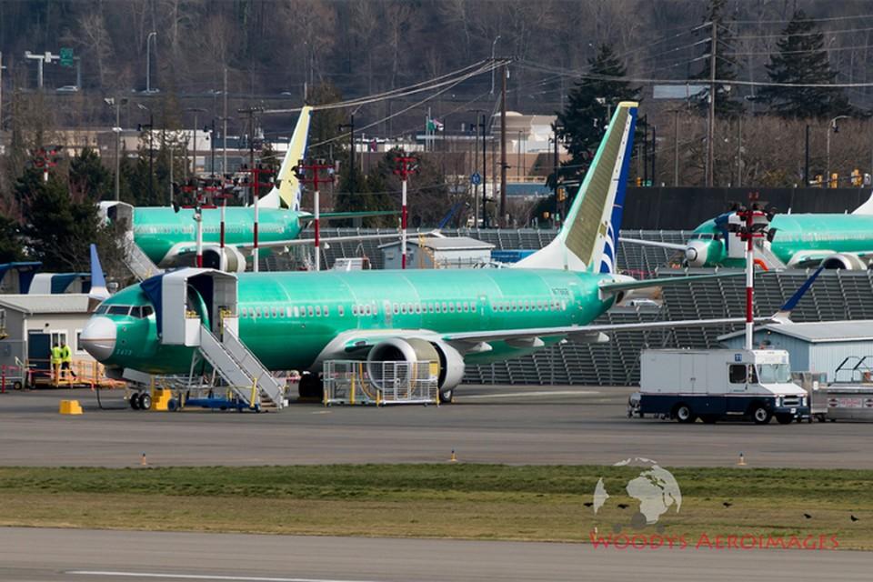 Поставка Boeing-737 MAX для «Белавиа» приостановлена. Фото flickr.com/photos/737max-production.
