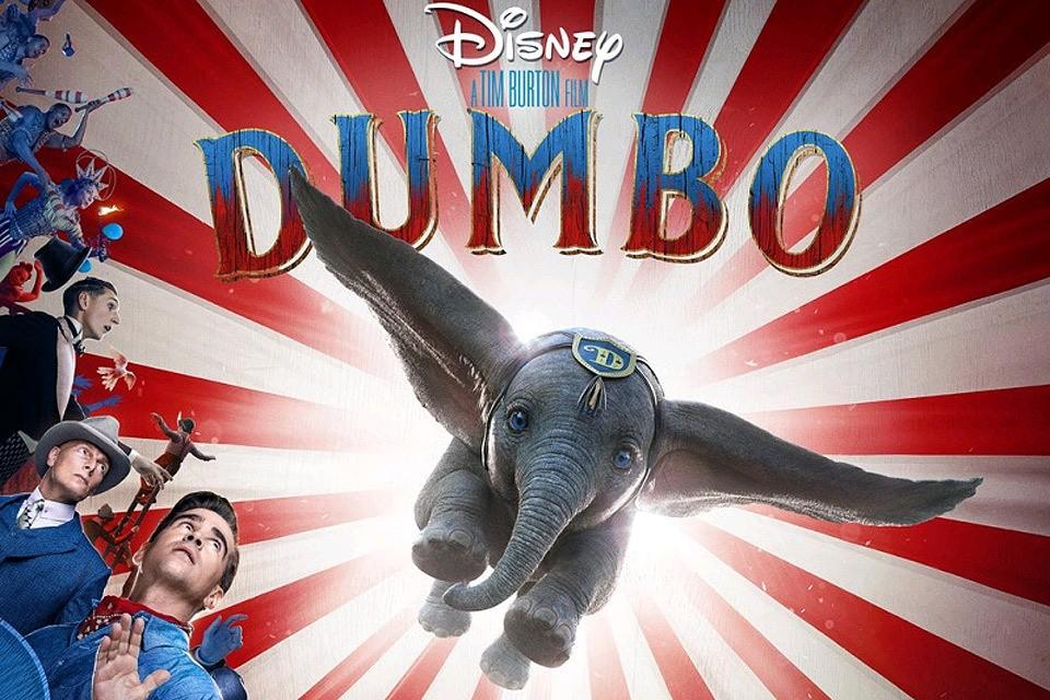 """Всего за 4 дня показа фильм """"Дамбо"""" возглавил отечественный кинопрокат."""
