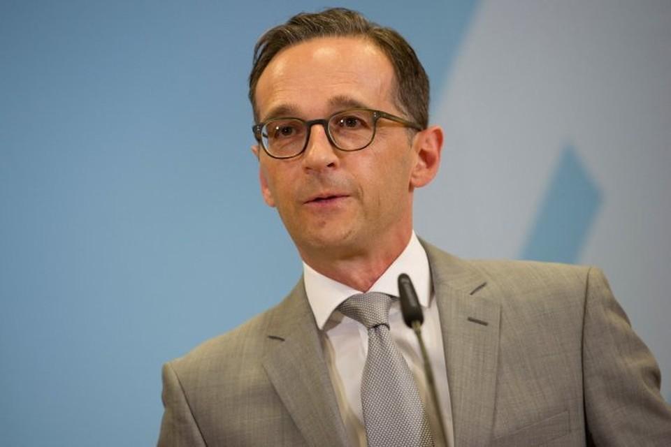 Министр иностранных дел Германии Хайко Маас