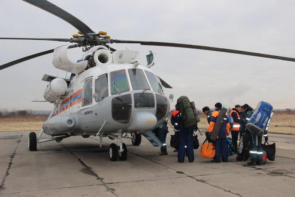 Десант хабаровский спасателей высадился на Бурее