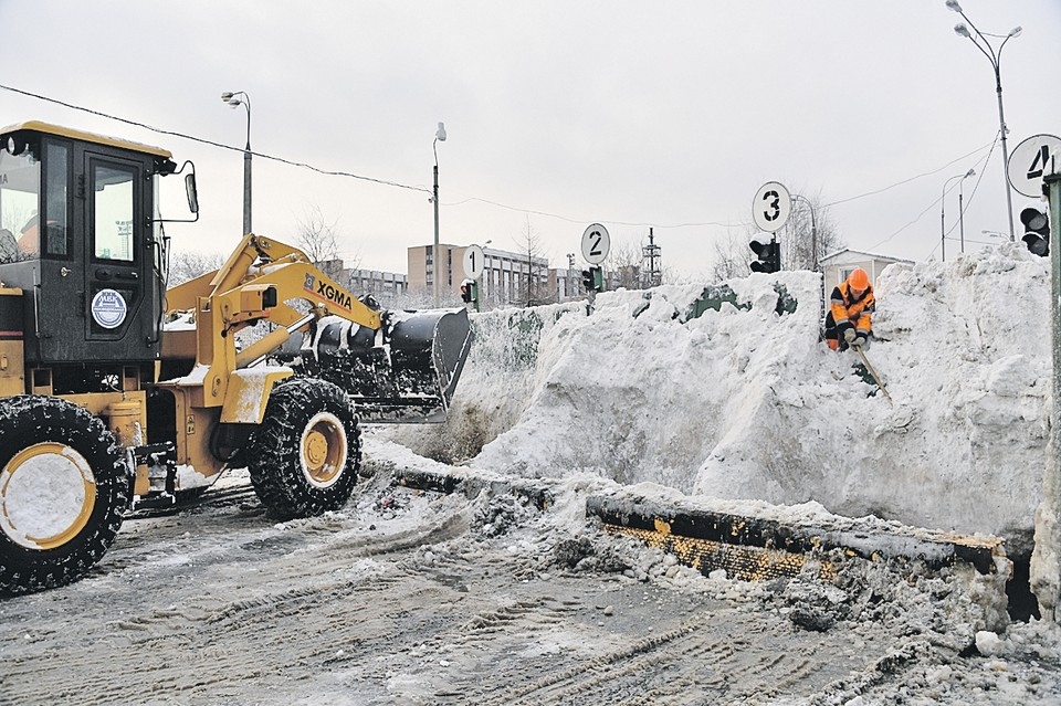 Снегоплавильные станции очень быстро окупаются.