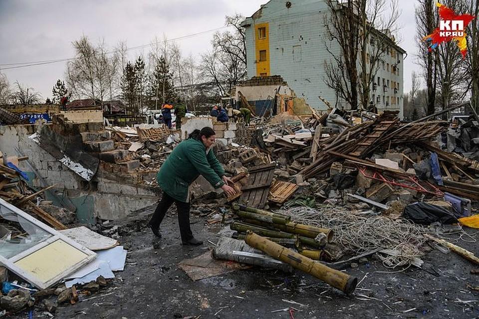Донецк. Место, которое разбомбила украинская армия