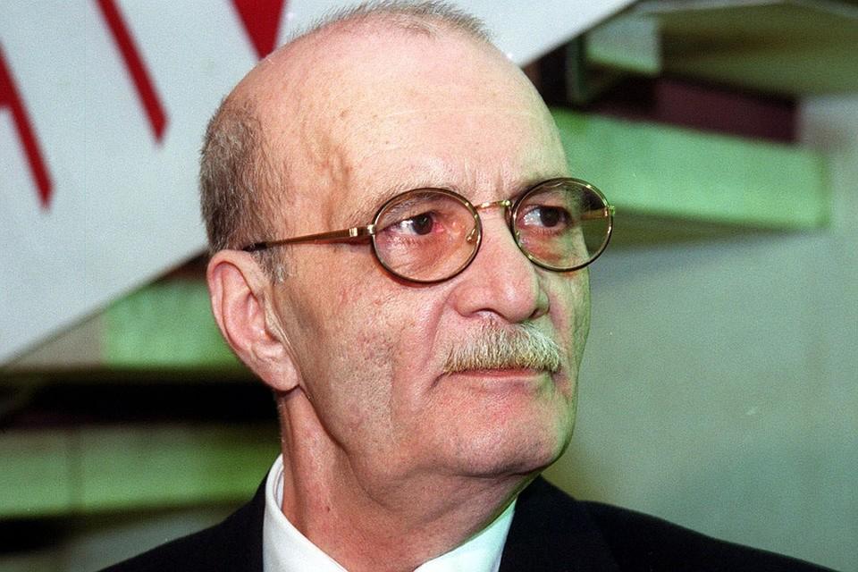 Кинорежиссер Георгий Данелия, 2000 год. Фото Игоря Зотина (ИТАР-ТАСС)