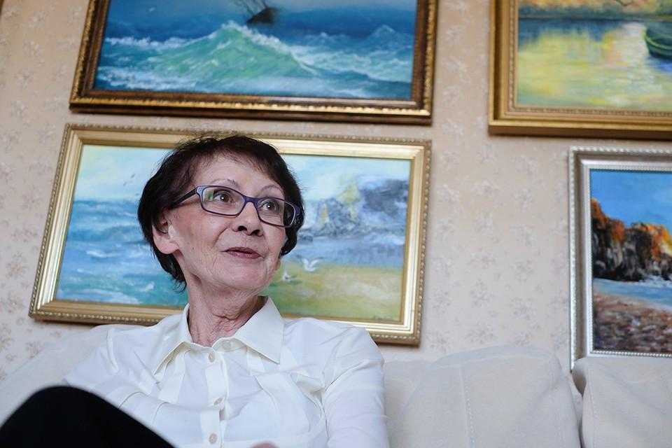 Нина Яковлева с детства мечтала рисовать.
