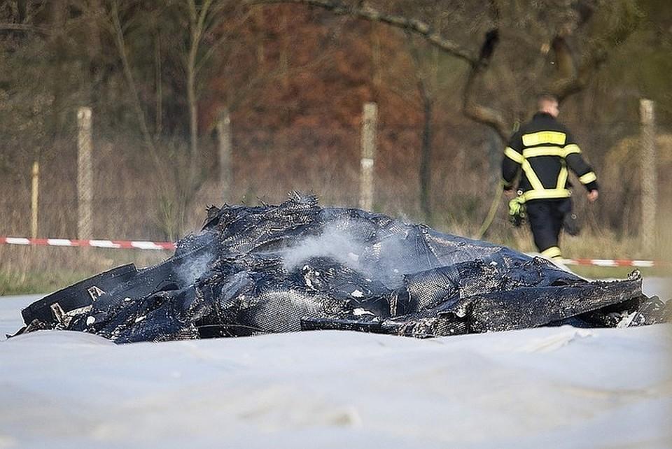 Самолет Epic LT разбился 31 марта при заходе на посадку в аэропорту Эгельсбах под Франкфуртом-на-Майне