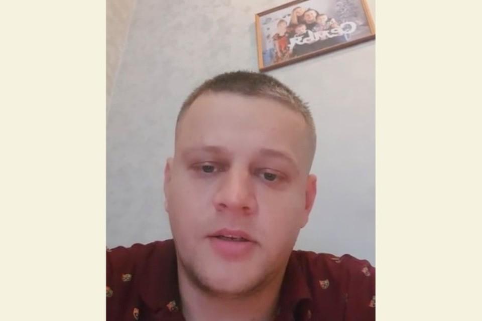 Кемеровчанин Игорь Востриков готов показать квартиру, где жил с погибшей семьей. ФОТО: кадр видео Instagram Игоря Вострикова.