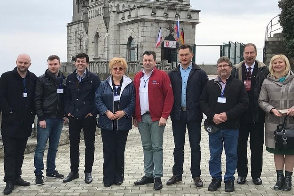 Немецкая делегация знакомилась с достопримечательностями ЮБК. Фото: Олег Финк