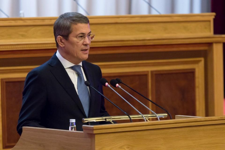 Врио главы Башкирии успел доказать, что громкие речи он любит