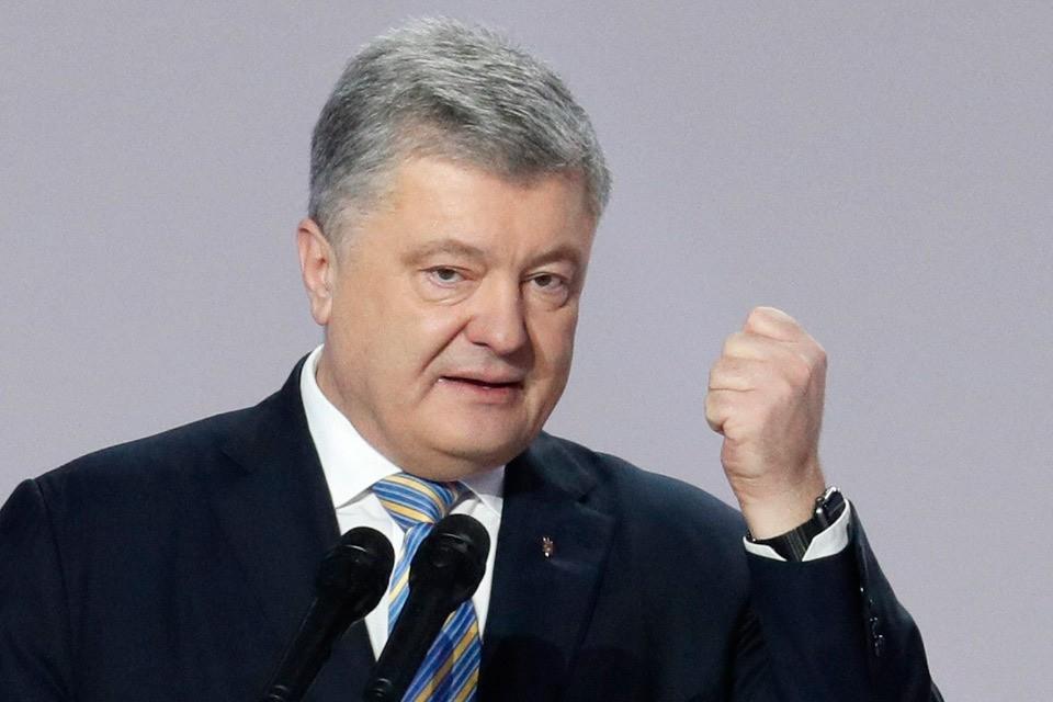Действующий президент Украины Петр Порошенко