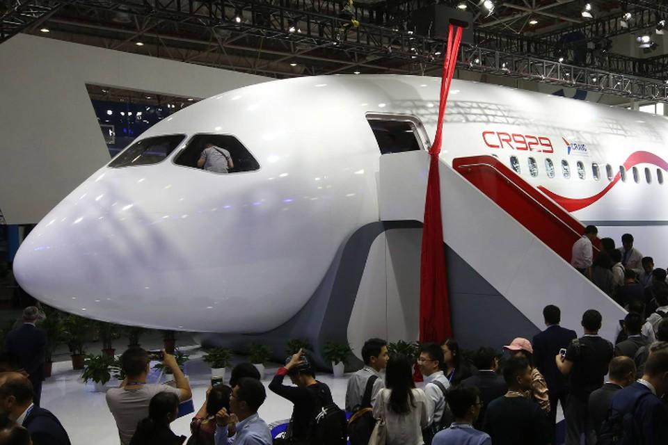 В России опровергли информацию о предложении Китая раздельно продавать самолеты CR929. Фото: Марина Лысцева/ТАСС