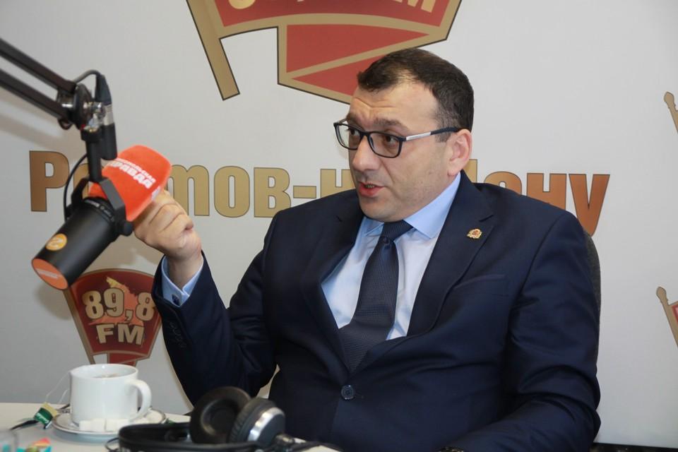Директор Департамента транспорта Ростова-на-Дону Христофор Ермашов