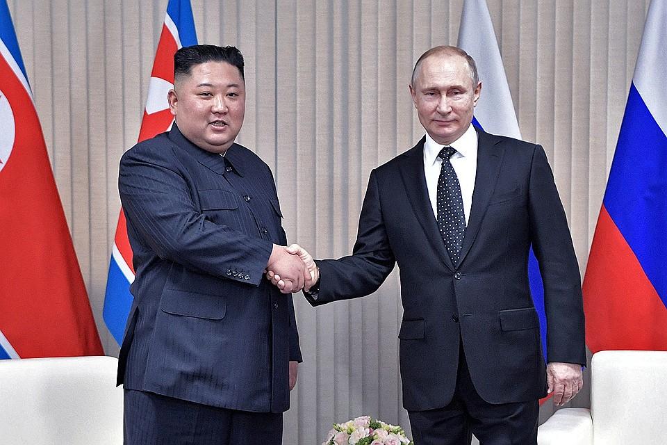 Путин и Ким Чен Ын перешли на Русский