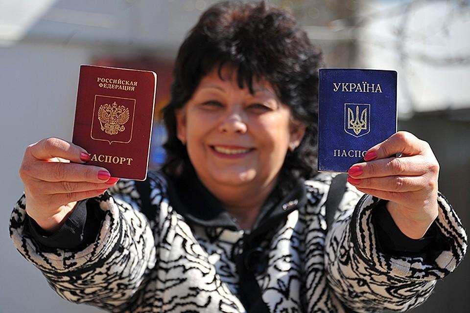Из-за истории с паспортами для жителей республик Донбасса Киев рассчитывает на усиление санкционного давления на Россию.