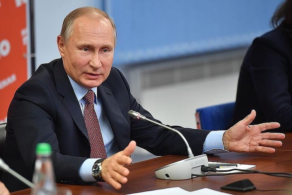 Путин утвердил перечень показателей оценки эффективности губернаторов