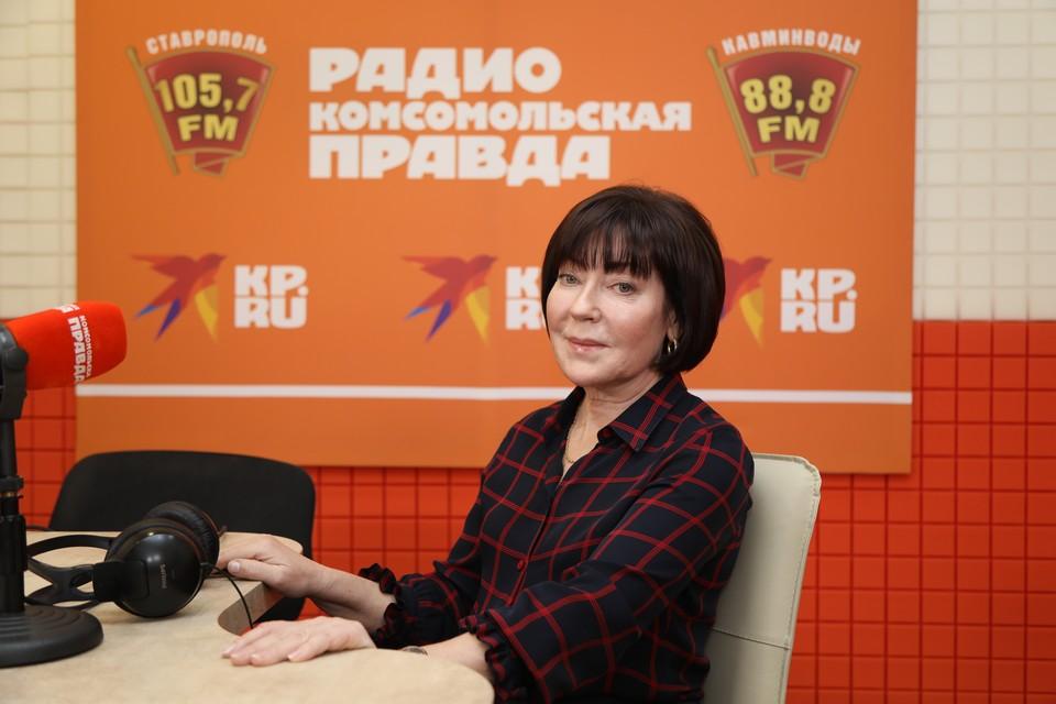 Председатель Федерации профсоюзов Ставропольского края Татьяна Чечина