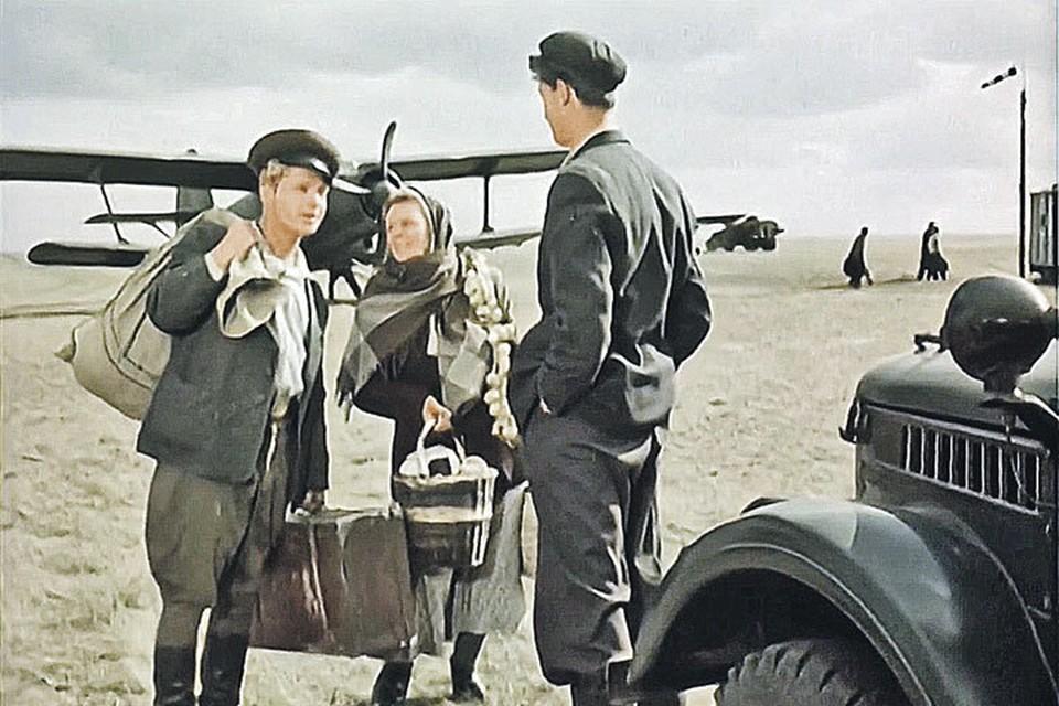 В жизни все было совсем не так, как было радостно показано в знаменитом фильме «Иван Бровкин на целине (1959 год). Кадр из фильма