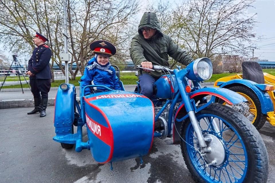 В парке «Городское начало» новосибирцы увидят выставку ретротехники.