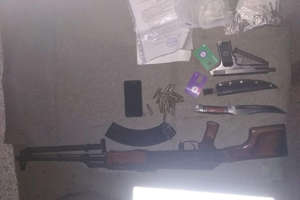 Предыдущего смотрящего задержали в начале мая с арсеналом в машине. Фото: МВД.