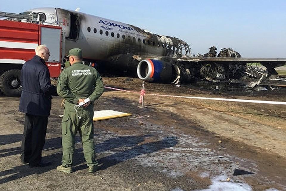 5 мая в Шереметьево произошло крушение Sukhoi Superjet-100, погиб 41 человек