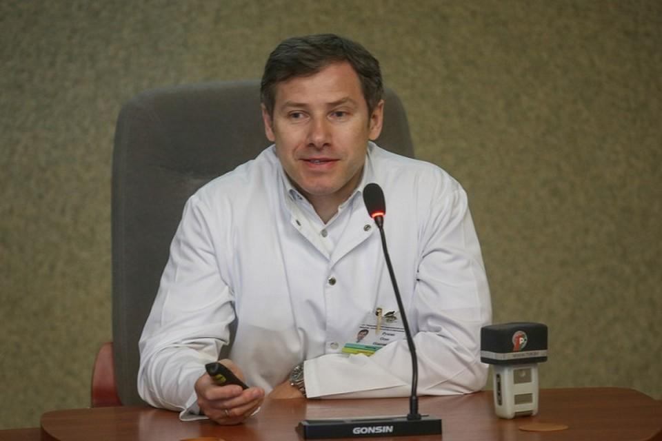 Олег Руммо, директор Минского НПЦ хирургии, трансплантологии и гематологии. Фото: sb.by.