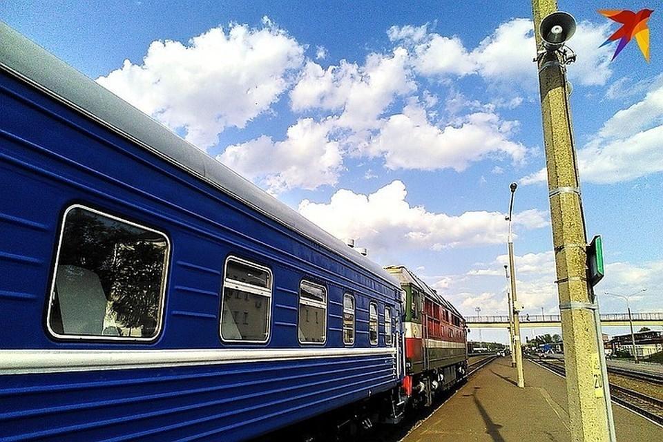 В Орше спасли россиянина, который положил голову под поезд