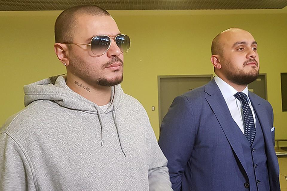 Лучший друг Екатерины рэпер Птаха и адвокат Алим Бешенов