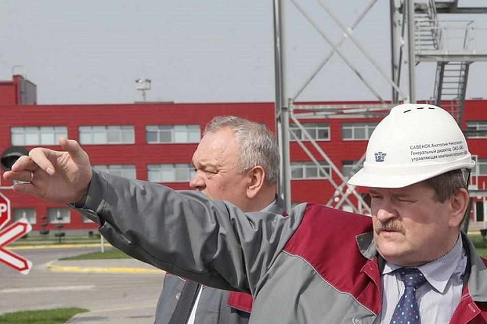 При Анатолии Савенке прошла масштабная модернизация БМЗ. Фото: belta.by.